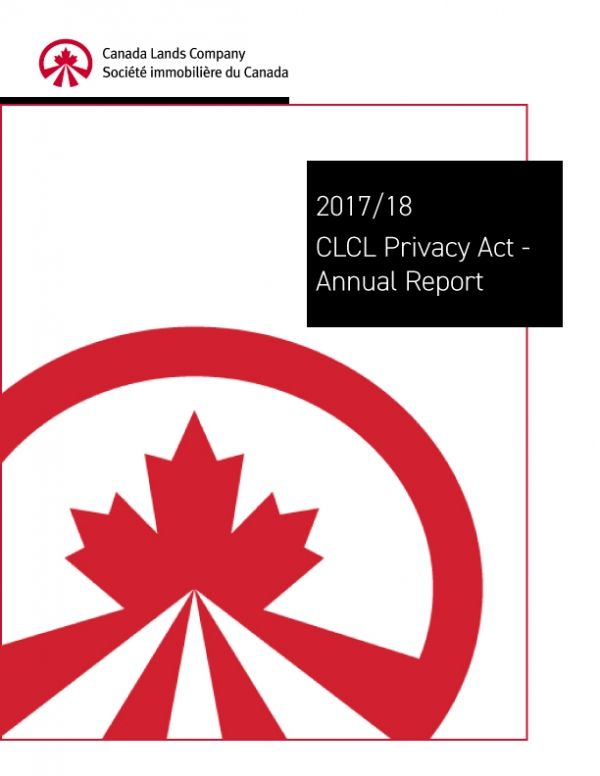 2017/18 CLCL Privacy Act Annual Report